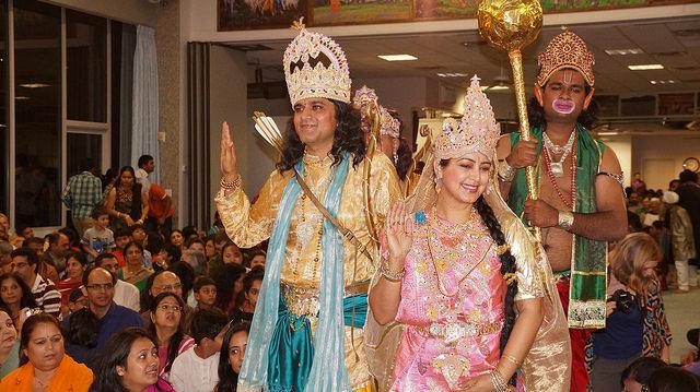 Ram and Sita darshan