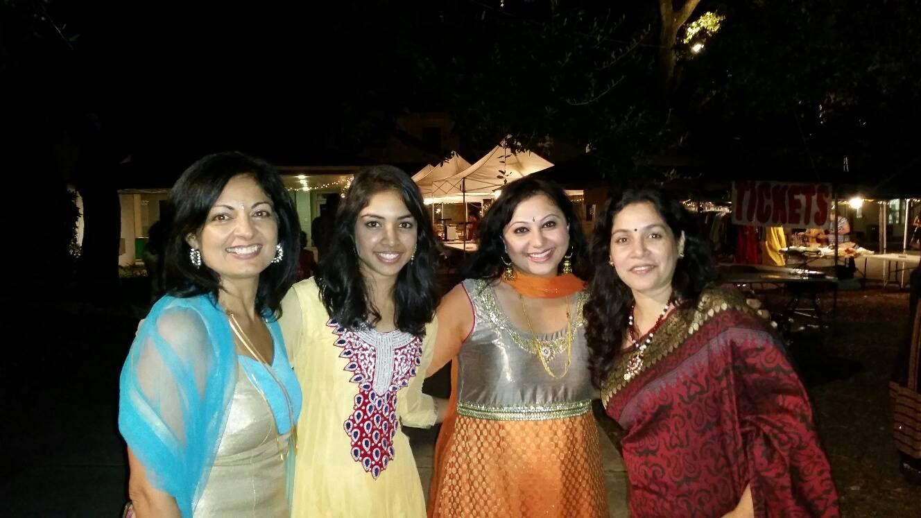 Diwali with minu and poornima