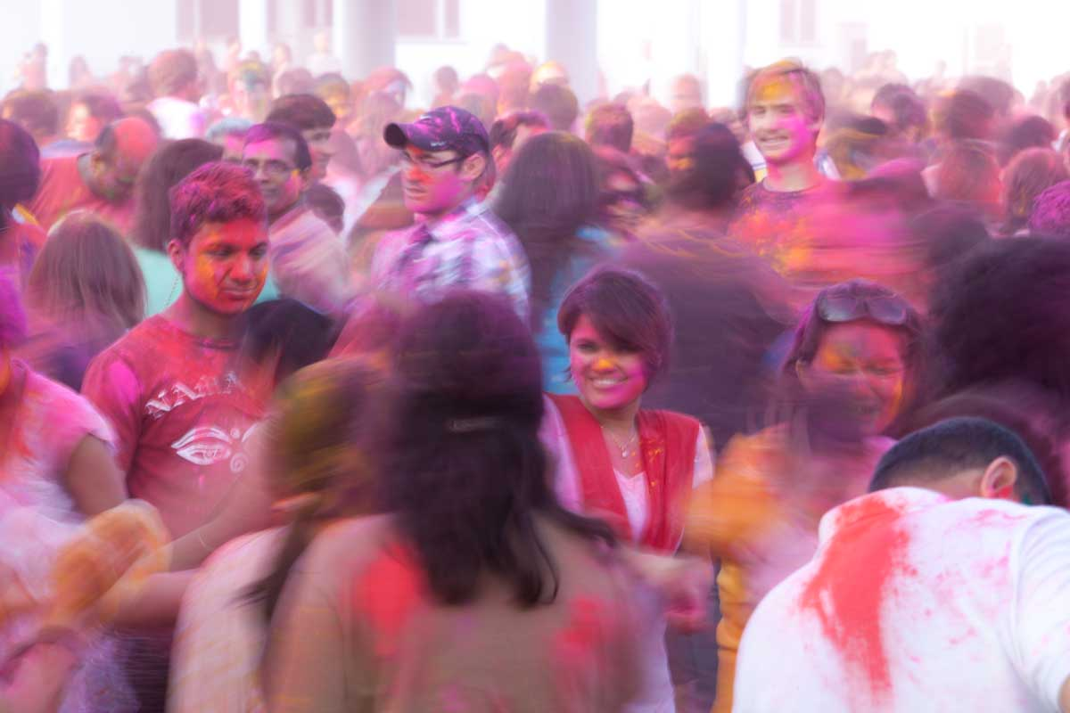 Holi in Motion