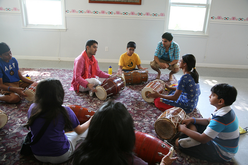 Dholak class (Indian drum) class with