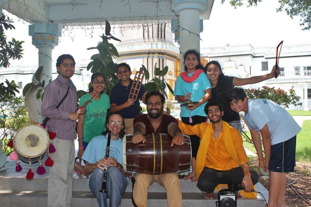 Radha Madhav Dham Music Band