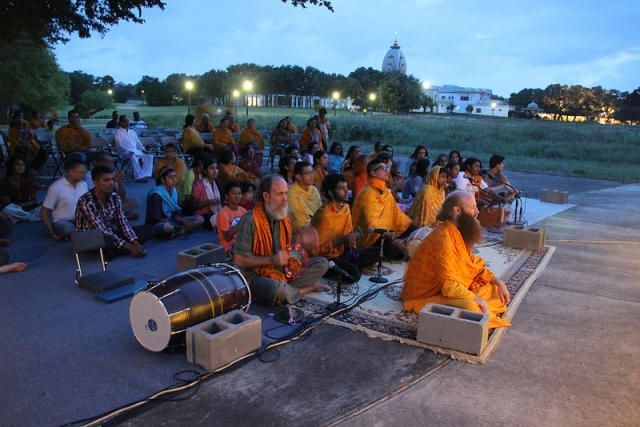 Devotional Practice: Kirtan at Govardhan Hill