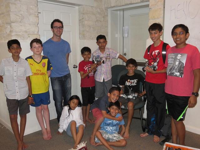 Family Camp: Robotics Class