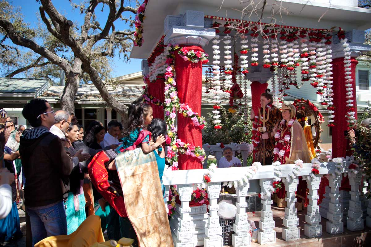 Families Pranam to Lord Shiva & Parvati