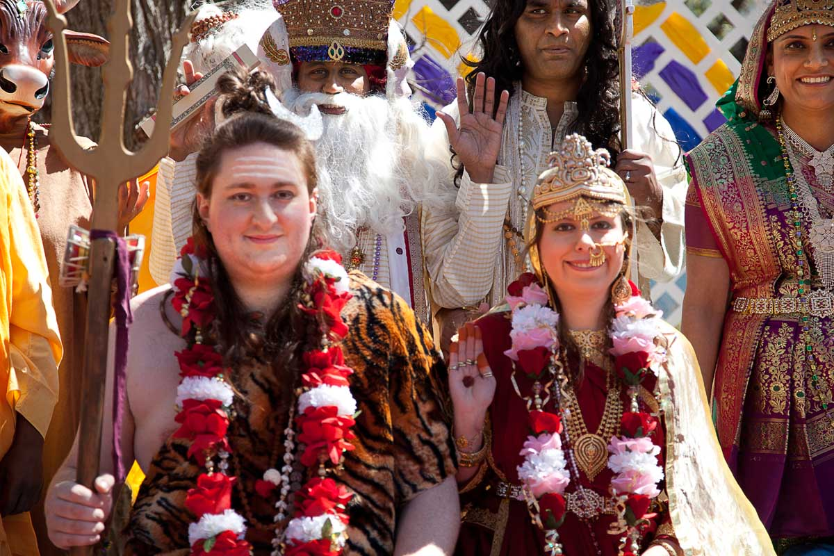 Lord Shiva & Parvati & Wedding Party