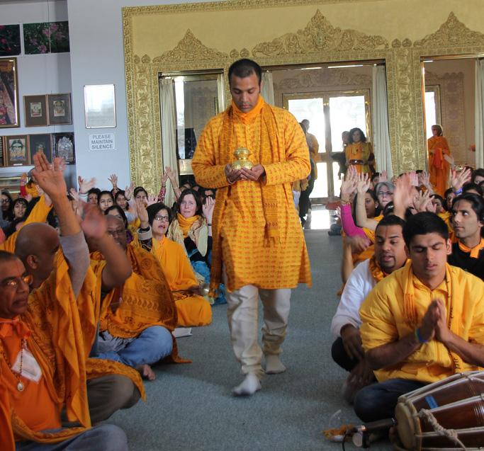 Chirag bhaiya & devotees