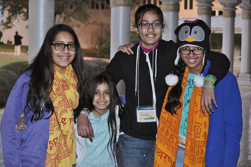 New friendships that will last a lifetime begin in Radha Madhav Dham.
