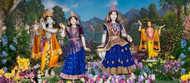 Nikunj Darshan Of Radha Krishna