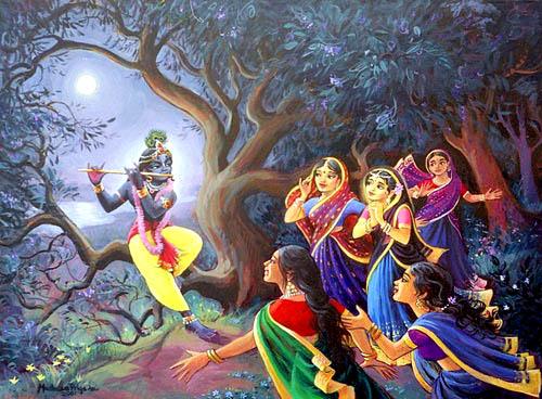 Krishna Flute Only Krishna Playing Flute For
