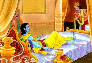 Arjun Asking For Krishna Before Mahabharat