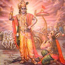 Arjun Accepts Krishna As His Guru