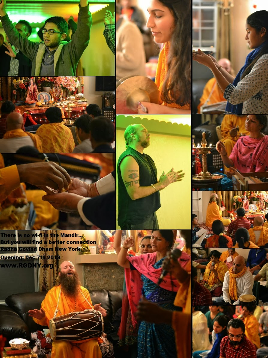 Devotees Doing Sadhana With BhaoBhao