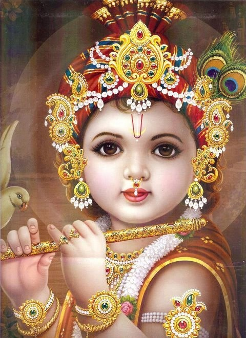 Baby Krishn - Happy Janmashtami