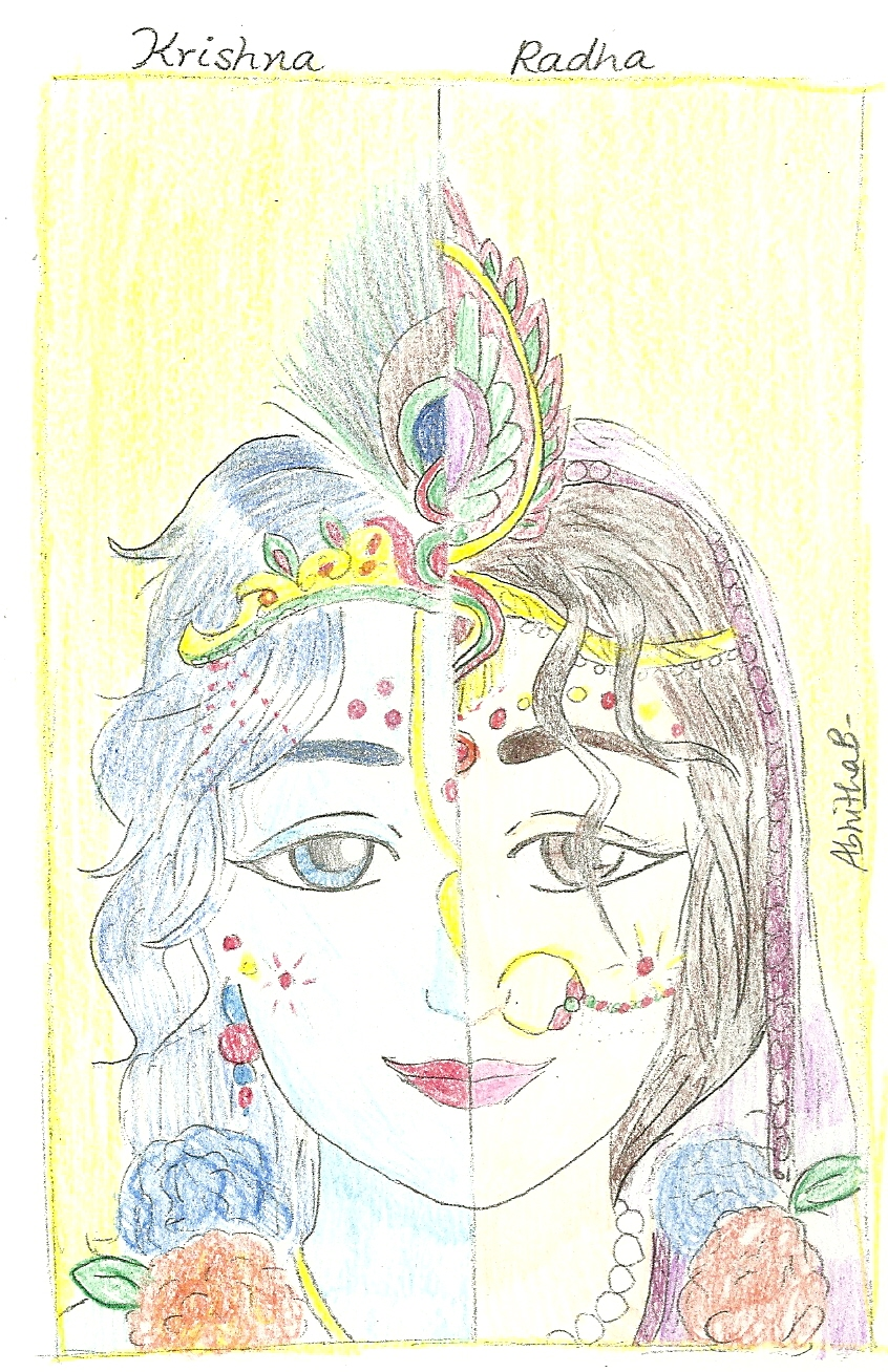 Radha Krishn Combined - In Color