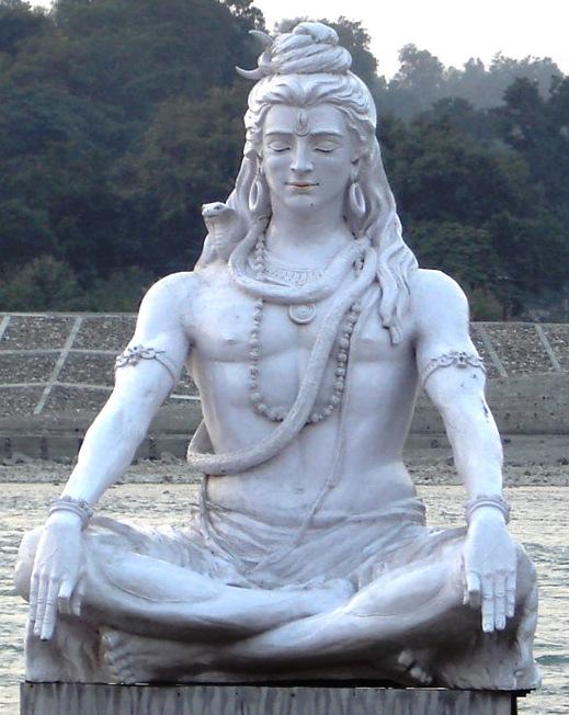 shiv meditating