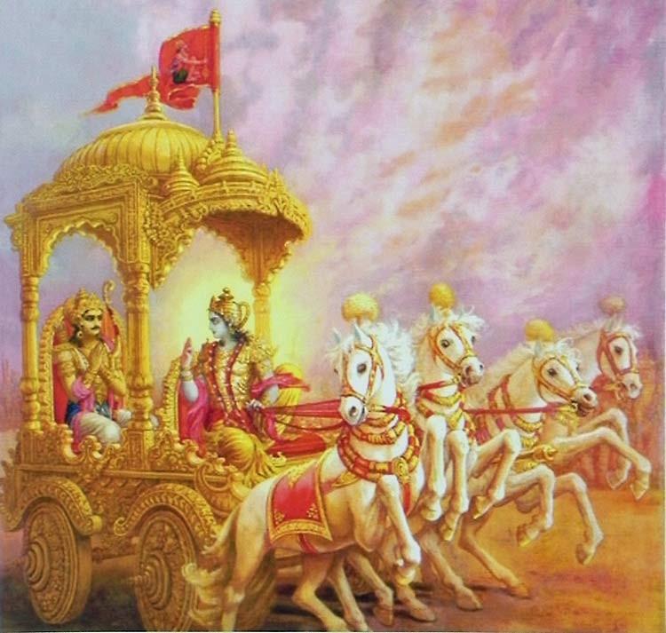 Divine Goal-Beyond Ved