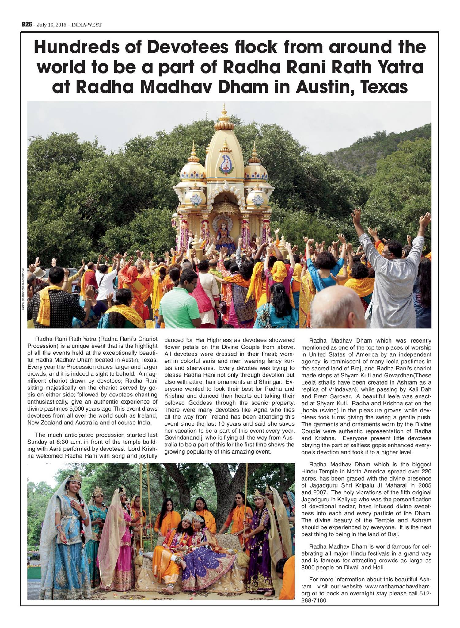 Rath yatra article - India West