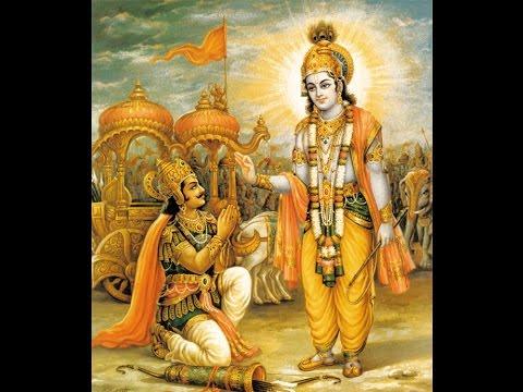 Convincing Arjuna to Fight War