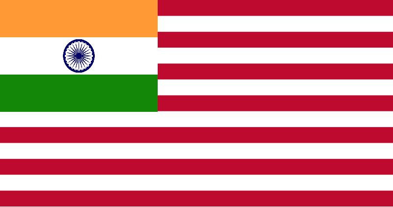 Indian-American_Flag