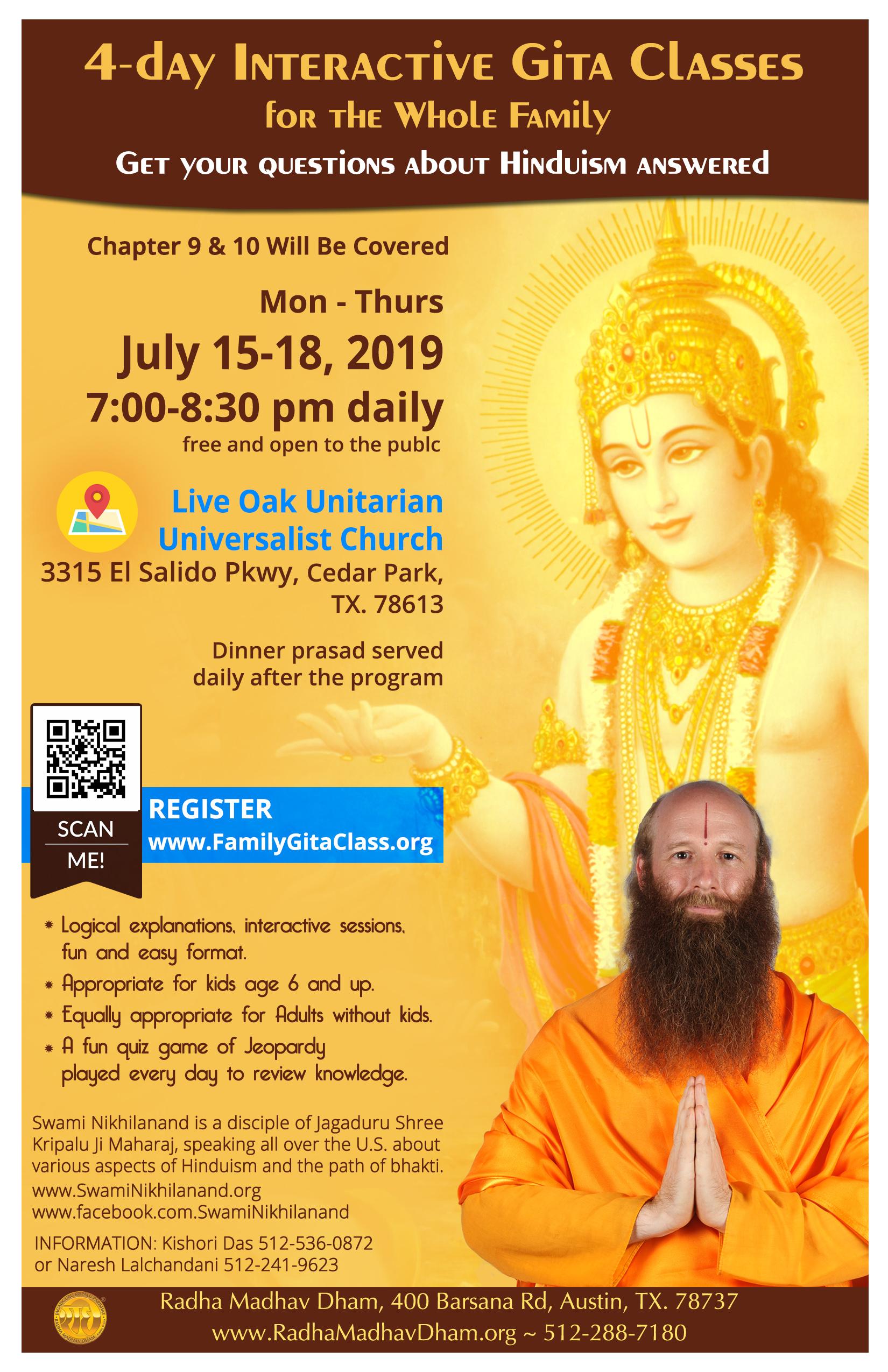 Live Oaks Flyer July 2019