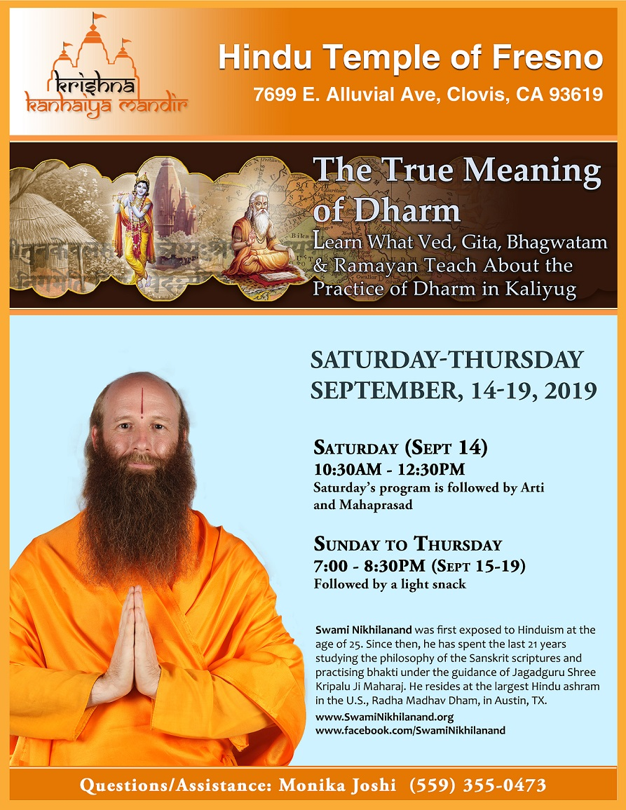 The True Meaning of Dharm V2 at Fresno